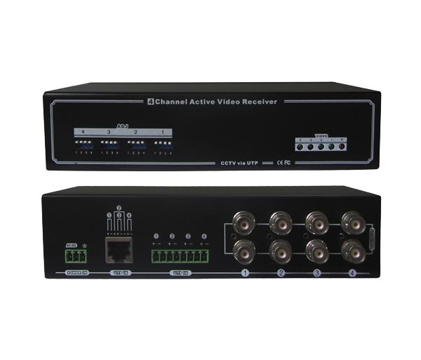 VBA-04 - V�deo balun ativo - ON Electronics; ON Electronics; Sistemas de Segurança; CFTV