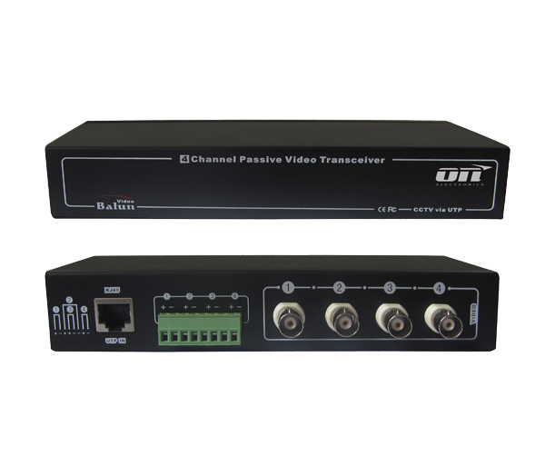 VBP-04 - V�deo balun passivo - ON Electronics; ON Electronics; Sistemas de Segurança; CFTV