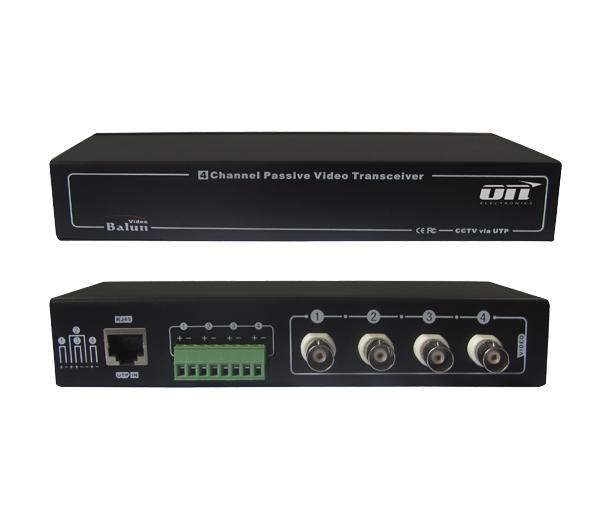 VBP-04R - V�deo balun passivo - ON Electronics; ON Electronics; Sistemas de Segurança; CFTV